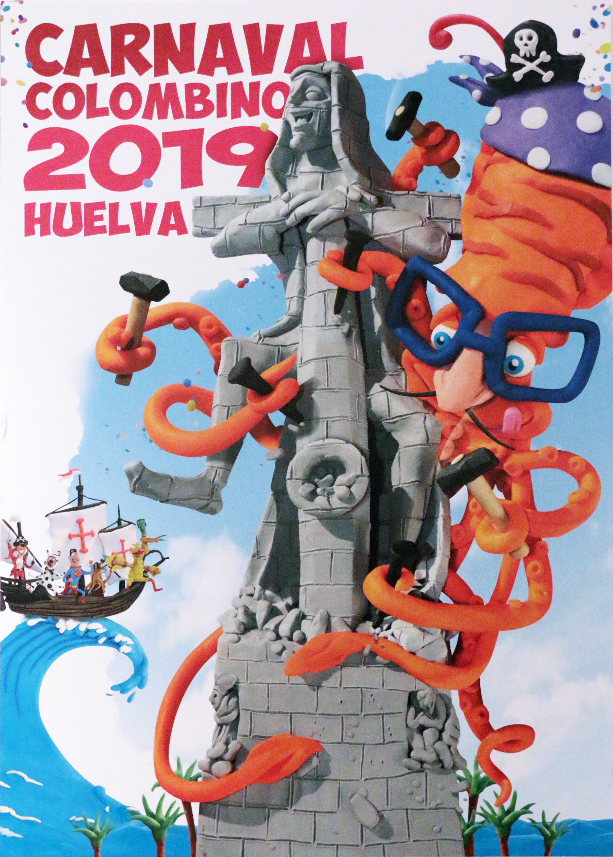 CARTEL CARNAVAL COLOMBINO 2019-